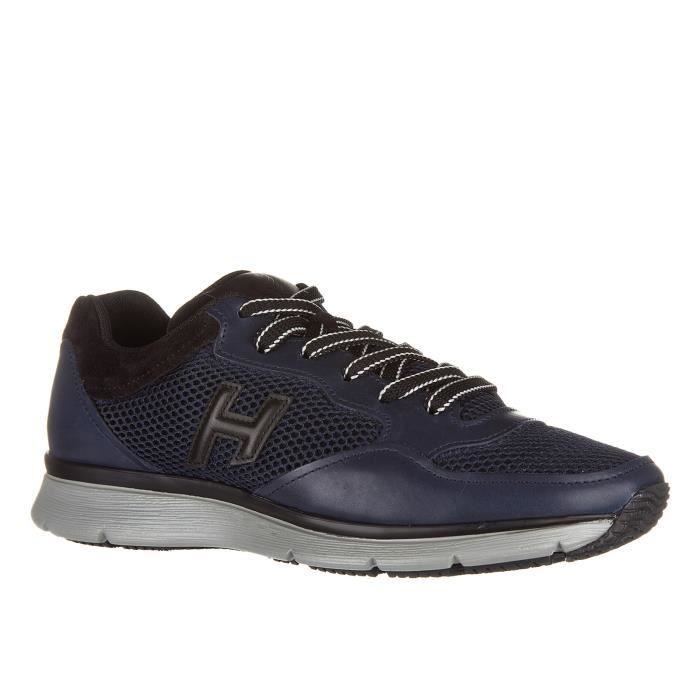 Chaussures baskets sneakers homme en cuirh254 t2015 3d Hogan