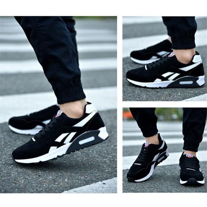 Homme Sneaker personnalité Haut qualité Chaussures pour hommes résistantes à l'usure Basket Mode Antidérapant Chaussures de course i6Z82