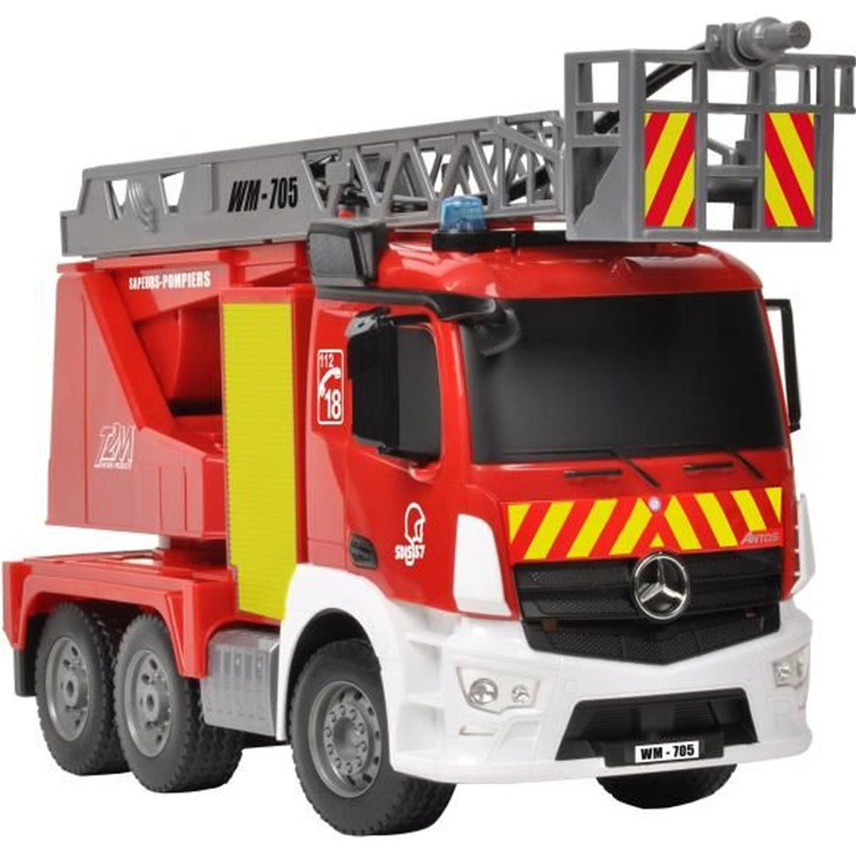 camion de pompiers rc t2m 1 20 achat vente camion enfant cdiscount. Black Bedroom Furniture Sets. Home Design Ideas