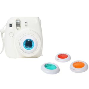 PACK APPAREIL BRIDGE filtre coloré 4 couleurs lentille magique pour Fuj