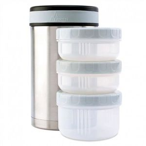 LUNCH BOX - BENTO  Thermo pour aliments Laken inox 1.5L