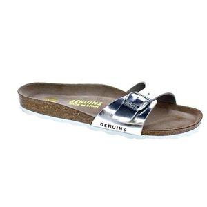 BALLERINE Chaussures Genuins Femme Sandales modèle Londres