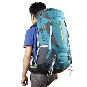 SAC À DOS DE RANDONNÉE sac à dos de sport 60 + 5L résistant à l'eau extér