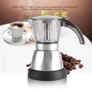 CAFETIÈRE Cafetière électrique 480W 220V 300ML Cafetière Pot