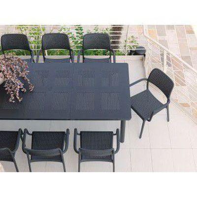 Table de jardin résine extensible 160/220 libec… - Achat / Vente ...