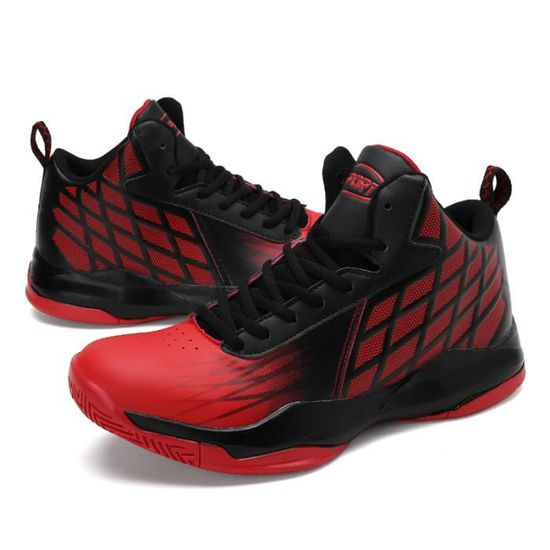 Basket sport homme chaussures BZH-XZ4003 Rouge Rouge - Achat / Vente basket