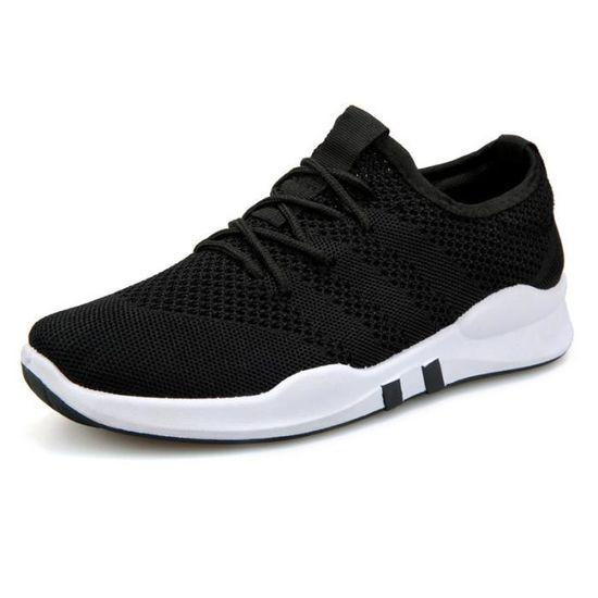 Basket homme ete - Classique Semelle souple chaussures homme ZX-XZ1049 Blanc Blanc - Achat / Vente basket