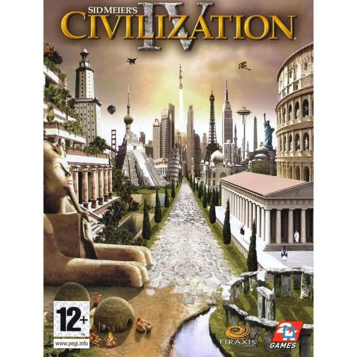 JEU PC CIVILIZATION 4 / PC DVD-ROM