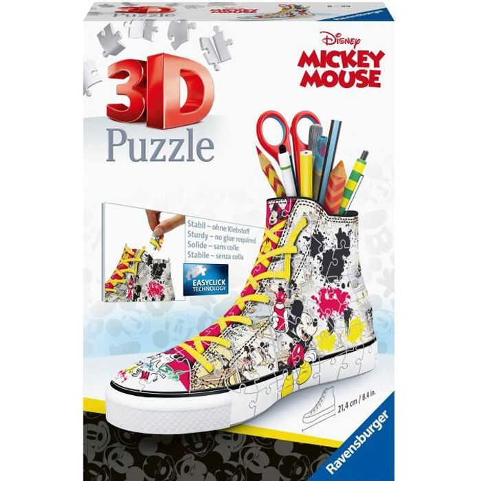 MICKEY Puzzle Sneaker Mickey Mouse - Disney