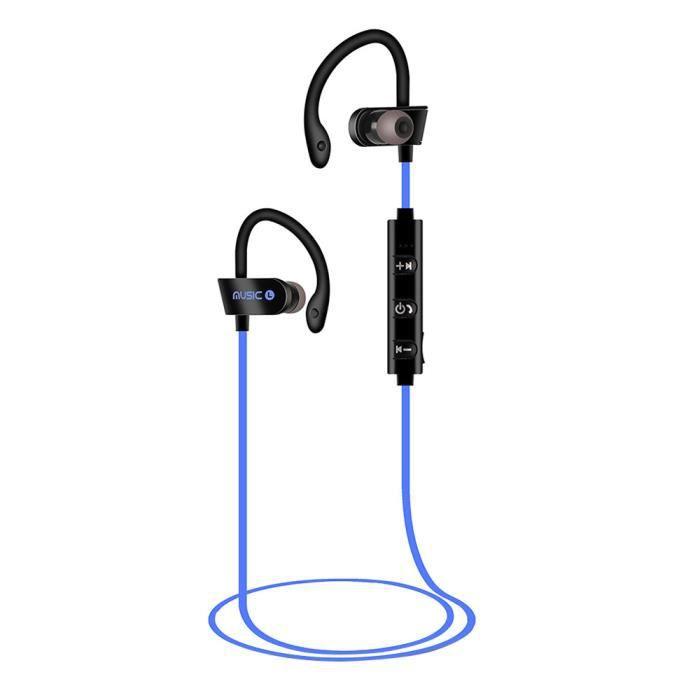 Casque Sans Fil Bluetooth Stéréo Sport Sweatproof Écouteurs @1660
