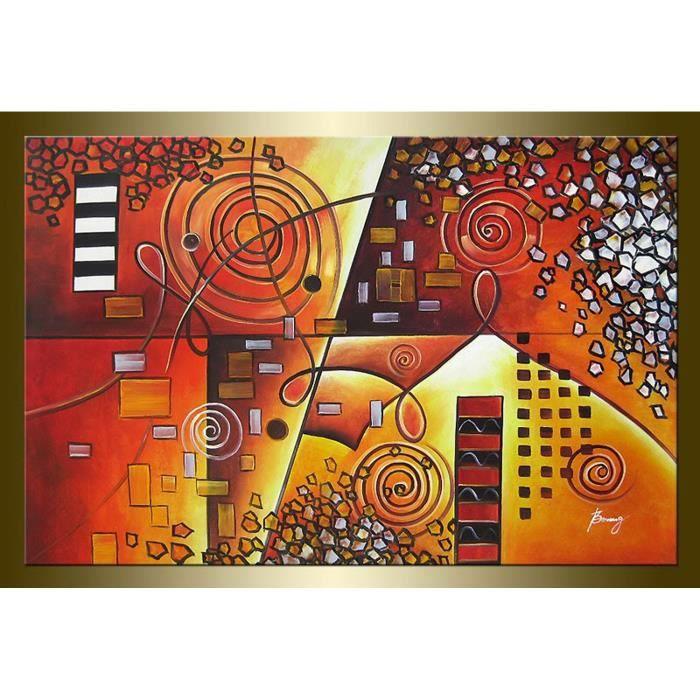 Tableau abstrait tableau toile grands tableaux tableau design ...