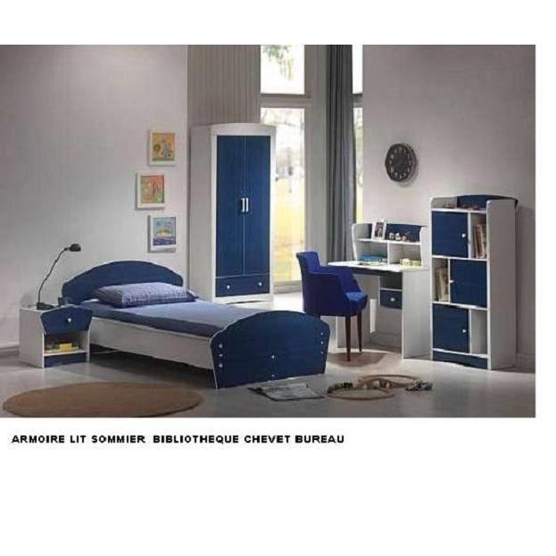 Chambre complète chambre à coucher complete enfant bibliotheque arm