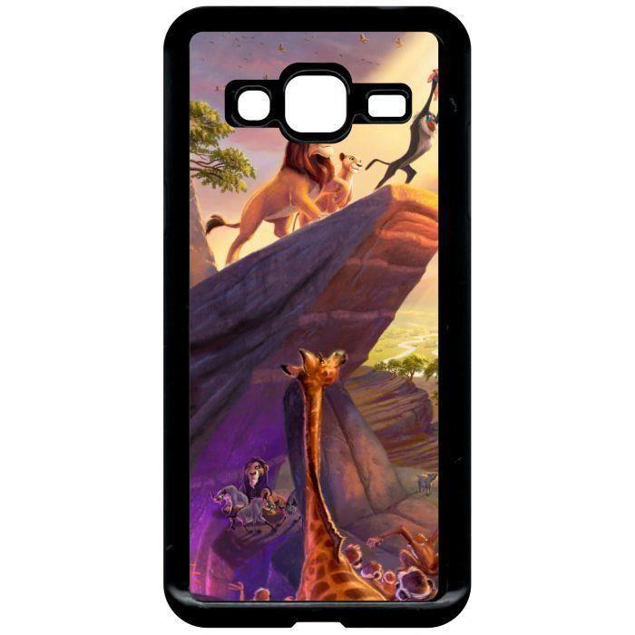 coque galaxy s6 silicone roi lion