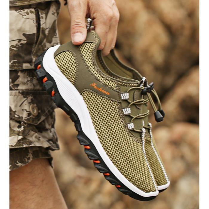Chaussures Homme Marche Randonnée Marche Respirant Quotidien Sport 1CpaJlVT