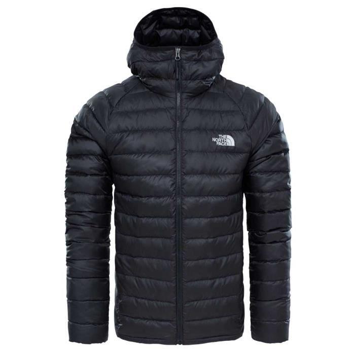 4f29fbd982 Vêtements homme Doudounes The North Face Trevail Hoodie Noir Noir ...