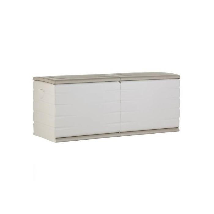 Coffre de Jardin Plastique 500L Beige - Achat / Vente coffre d ...