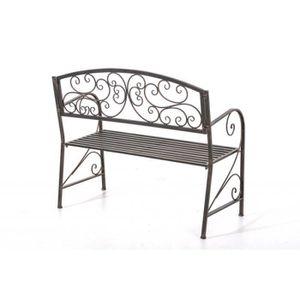 banc en fer forge achat vente banc en fer forge pas cher soldes d s le 10 janvier cdiscount. Black Bedroom Furniture Sets. Home Design Ideas