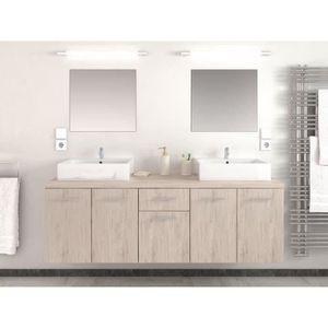 double vasque achat vente double vasque pas cher soldes d s le 27 juin cdiscount. Black Bedroom Furniture Sets. Home Design Ideas