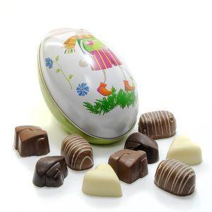CONFISERIE DE SUCRE Oeuf de Pâques assortiment de chocolats Belges 120