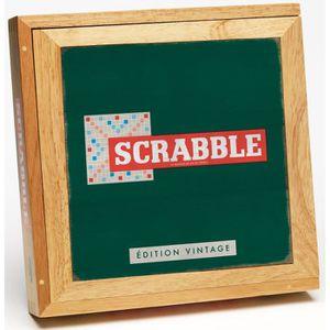 JEU SOCIÉTÉ - PLATEAU Scrabble Édition Vintage