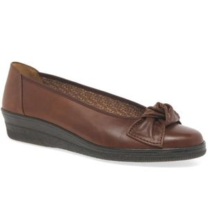 BALLERINE Lesley womens occasionnel wedge talon chaussures d