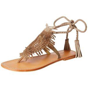 BALLERINE Vero Moda Vm Heureux Sandales de mode en cuir pour