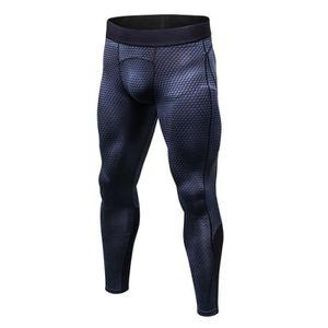LEGGING DE COMPRESSION Pantalon de Sport Homme Legging de Compression Fit