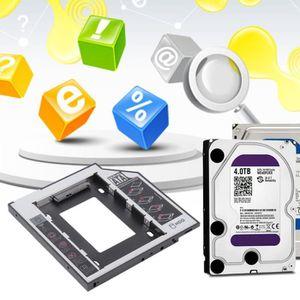LECTEUR HD DVD Disque dur SSD universel SATA 2 HDD 9,5 mm pour CD