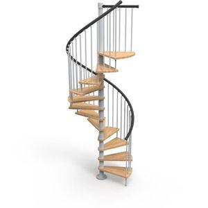 ESCALIER Escalier colimaçon 12 marches + palier - Diamètre