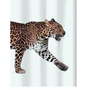 rideau leopard achat vente pas cher. Black Bedroom Furniture Sets. Home Design Ideas