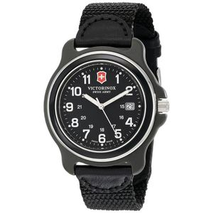 MONTRE Victorinox 249087 Montre bracelet homme Nylon Noir