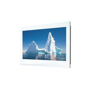 Téléviseur LED TV Cadre Blanc Iceberg Compact étanche 81 cm (32''