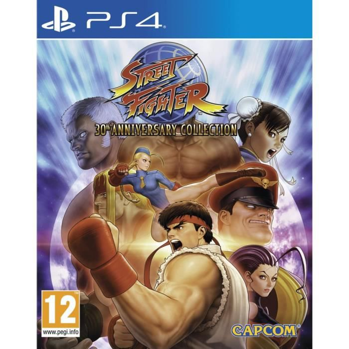 JEU PS4 Street Fighter 30th Anniversary Collection Jeu PS4