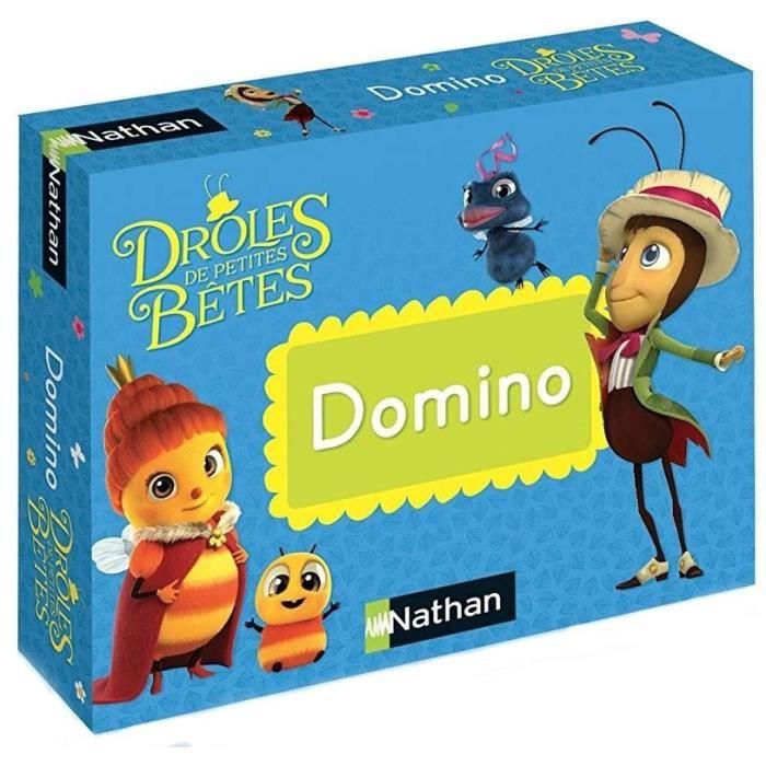 NATHAN Drôles de Petites Bêtes - Domino