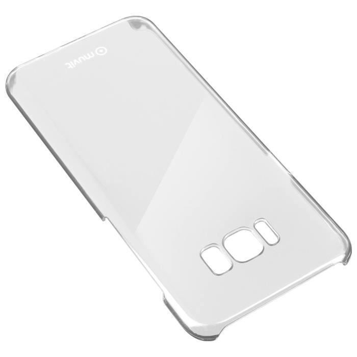 Coque Protection Crystal Case Muvit ultra-fine Samsung Galaxy S8 - Transparente