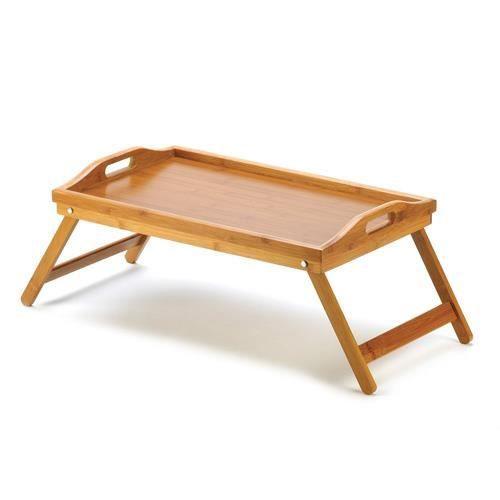 plateau petit d jeuner au lit bambou achat vente plat de service plateau petit d jeuner au l. Black Bedroom Furniture Sets. Home Design Ideas