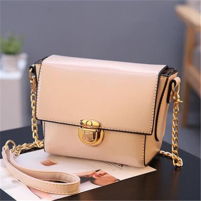 sac a main femme cuir beige