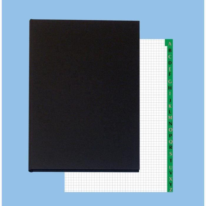 Répertoire REG.REPERTOIRE NOIR 360X230 500 PAGES