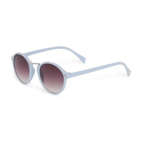 Lunettes de Soleil Polarisées Lunettes de Soleil Hommes Et Femmes Fashion Yurt Mirror Fashion Ocean Sunglasses , Cadre Argenté Ciel Bleu