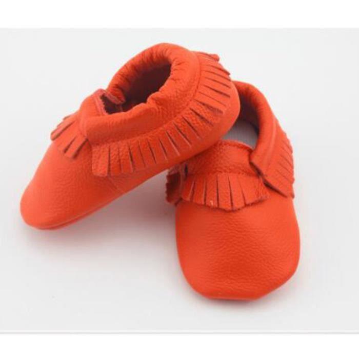 Bébé, chaussures en cuir bébé mocassins garçons toddler chaussures antidérapantes chaussures chaussures filles enfants des nourrisso