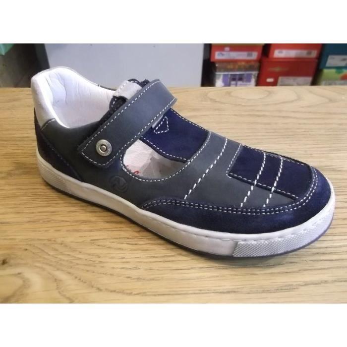 Chaussures enfants. Mi-saisons ajourées garçons NATURINO P31