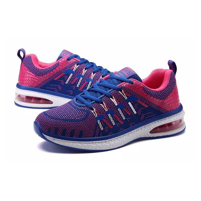 Baskets chaussures de sport respirantes chaussures de course chaussures de coussin d'airHommes et femmes chr43