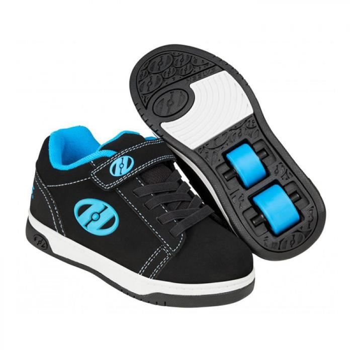 Heelys chaussure a roulette x2 dual up 100143 black cyan white