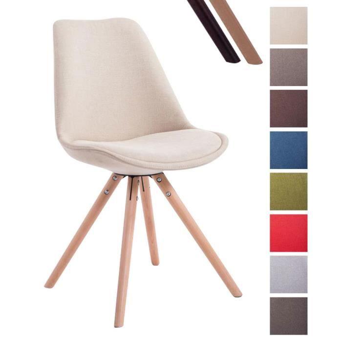 clp chaise de visiteur toulouse en tissu moderne a - Chaise Scandinave