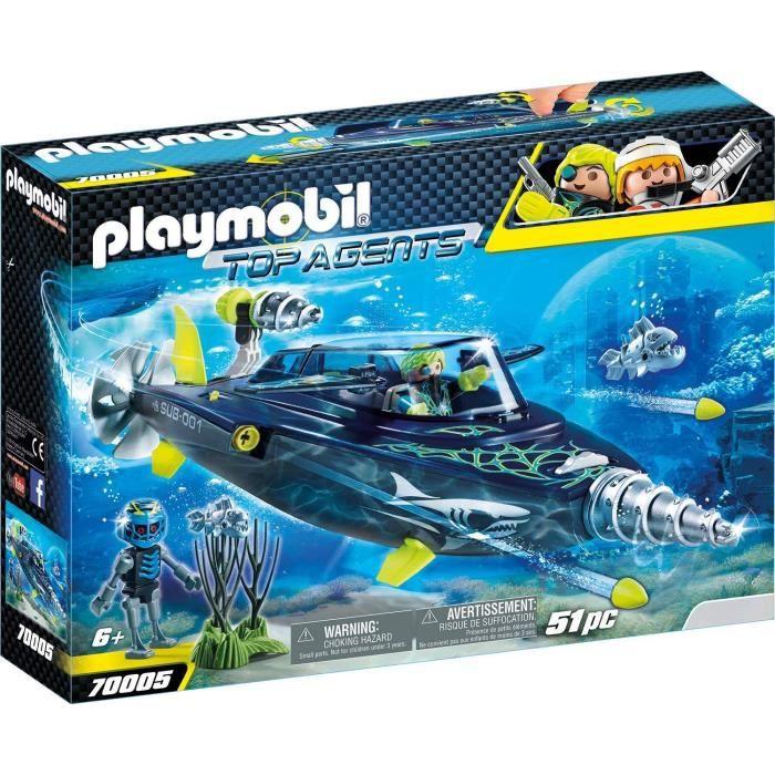 Marin a 70005 Achat Team Sous k S Playmobil D'attaque r 0219 h OkXPiZu