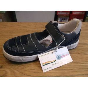 Chaussures enfants. Mi-saisons ajourées garçons bleues NATURINO P27 j4StUJzy