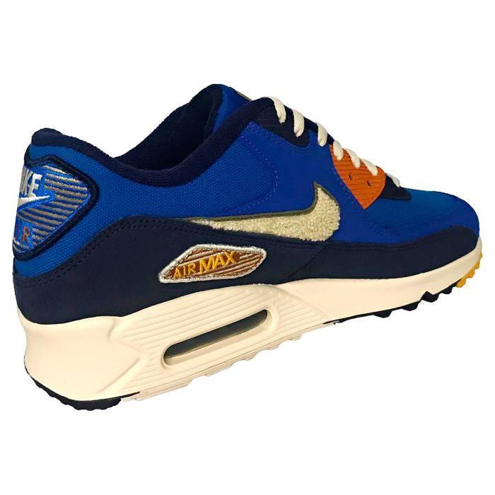 Nike Max Baskets Premium Air Homme 90 Bleu Royal Se FFqfr