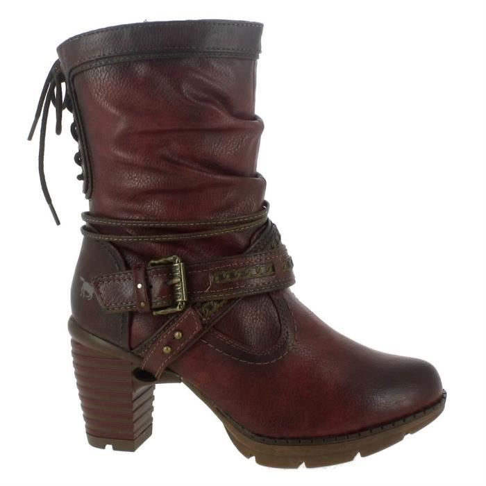 a9e98dd89e0c3 1292 Bottines Femme Boots Mustang 603 pxqgv4Z