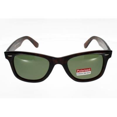 AD SOL 4000BP Style Wayfarer ecaille verre vert Mixte Indice 3