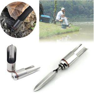 CANNE À PÊCHE Porte-canne à pêche support télescopique en acier e64390a5aaf